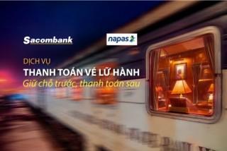 Sacombank triển khai dịch vụ thanh toán vé lữ hành trả sau
