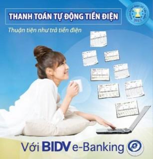 BIDV ưu đãi khách hàng đăng ký mới dịch vụ thanh toán hóa đơn tiền điện
