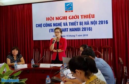 Techmart Hanoi 2016 tạo môi trường kết nối nhà khoa học và doanh nghiệp