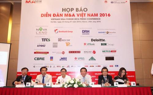 Năm 2016: Một năm sôi động cho các giao dịch M&A tại Việt Nam