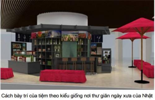 Tiệm Ăng ten shop của 3 tỉnh vùng Kanto khai trương tại Aeon Long Biên