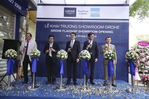 Ra mắt thương hiệu phòng tắm hàng đầu thế giới tại Việt Nam