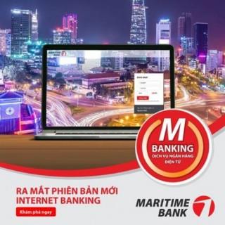 Maritime Bank có phiên bản mới cho Internet Banking
