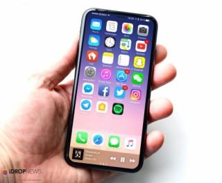 iPhone 8 có thể thay nhận diện vân tay bằng khuôn mặt