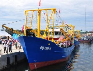 Nghiên cứu gia hạn nợ, ân hạn cho tàu cá vỏ thép nằm bờ do hư hỏng