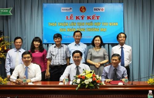 BIDV phối hợp thu ngân sách trên địa bàn TP.Hồ Chí Minh