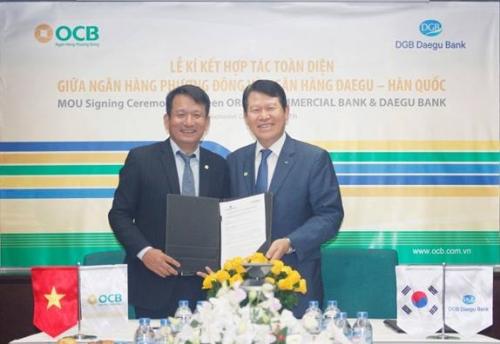OCB hợp tác toàn diện với Daegu Bank Hàn Quốc