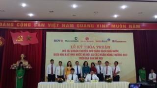 Các ngân hàng trên địa bàn Hà Nội mở tài khoản chuyên thu ngân sách