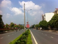 Duyệt chỉ giới đường đỏ đường trục trung tâm hành chính huyện Thạch Thất
