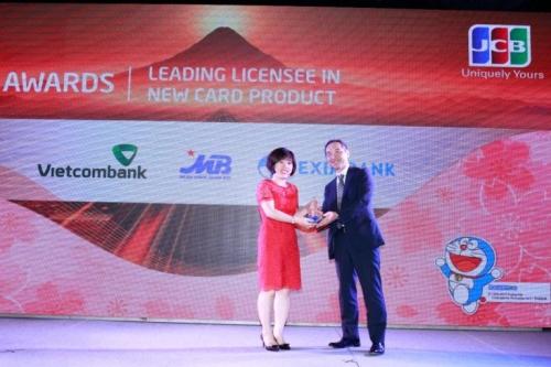 MB: Ngân hàng dẫn đầu về sản phẩm thẻ mới từ JCB