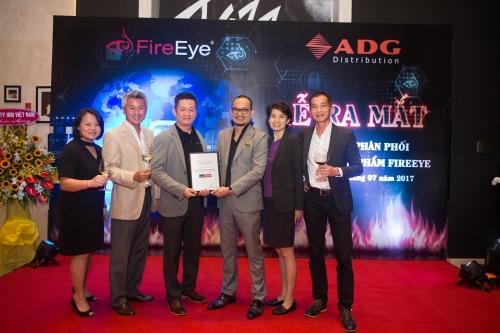 ADG trở thành nhà phân phối sản phẩm chính thức của FireEye