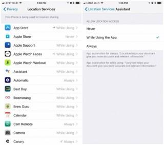iOS 11 sẽ chặn các ứng dụng như Uber liên tục theo dõi định vị bạn