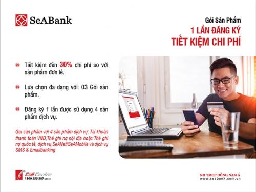 SeABank thêm sản phẩm cho khách hàng cá nhân