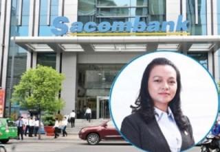 Bà Nguyễn Đức Thạch Diễm là tân tổng giám đốc Sacombank