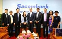 Tổ chức thẻ Visa tăng cường hợp tác với Sacombank