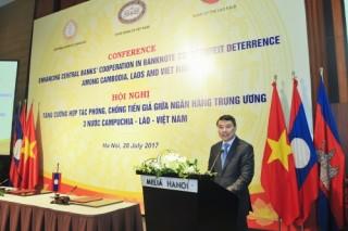 NHTW Campuchia - Lào - Việt Nam tăng cường hợp tác phòng, chống tiền giả