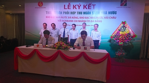 Agribank Chi nhánh Đà Nẵng phối hợp thu NSNN trên địa bàn TP.Đà Nẵng