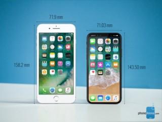 iPhone 8 so dáng Galaxy S8, LG G6, Google Pixel