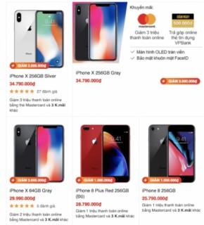 iPhone giảm giá hàng loạt để kích cầu dịp World Cup