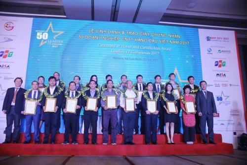 Bình chọn 50 doanh nghiệp CNTT hàng đầu Việt Nam 2018