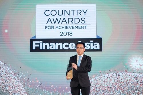 Vietcombank được vinh danh là ngân hàng tốt nhất Việt Nam năm 2018