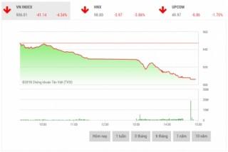 Chứng khoán chiều 3/7: Lực bán tăng mạnh, VN-Index tiếp tục lao dốc