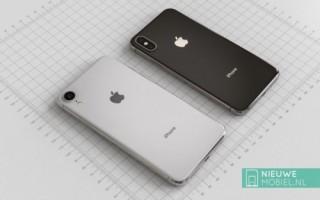 Ảnh render iPhone 2018 bản giá rẻ 'đẹp mê ly' bên cạnh iPhone X thế hệ mới