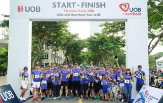 UOB tổ chức đi bộ gây quỹ cho trẻ em khó khăn