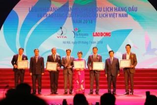 FLC nhận Giải thưởng Du lịch Việt Nam 2018