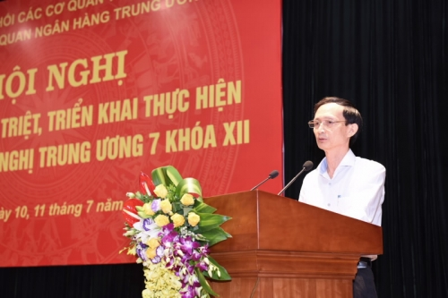 Quán triệt và triển khai thực hiện Nghị quyết Trung ương 7, khóa XII