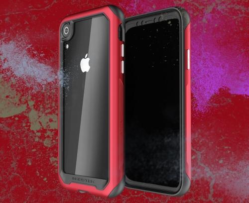 Hình ảnh một chiếc iPhone giống iPhone 8 nhưng có tai thỏ, camera lớn