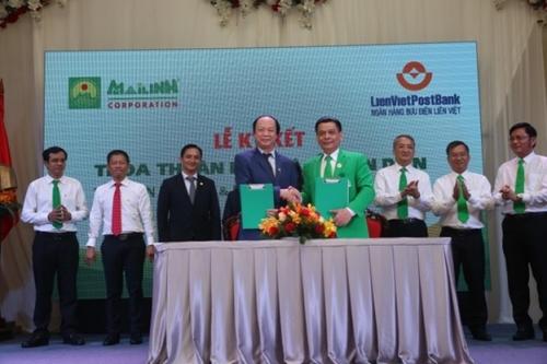 LienVietPostBank và MaiLinhGroup bắt tay hợp tác toàn diện