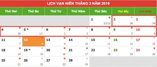 nguoi lao dong duoc nghi 9 ngay dip tet am lich 2019