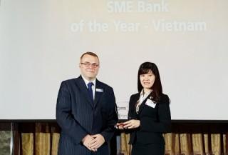 """BIDV được vinh danh """"Ngân hàng SME tốt nhất Việt Nam 2018"""""""