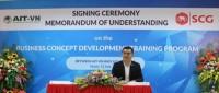 SCG hợp tác với Viện Công nghệ châu Á