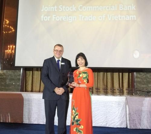 Vietcombank được vinh danh vì có Mobile Banking sáng tạo