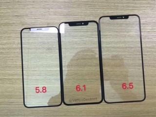 Ảnh rò rỉ xác nhận iPhone LCD sẽ có viền màn hình dày hơn iPhone OLED