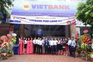Vietbank Phòng giao dịch Láng Hạ khai trương trụ sở mới