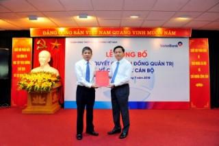 Ông Cát Quang Dương được phân công phụ trách Hội đồng Quản trị VietinBank