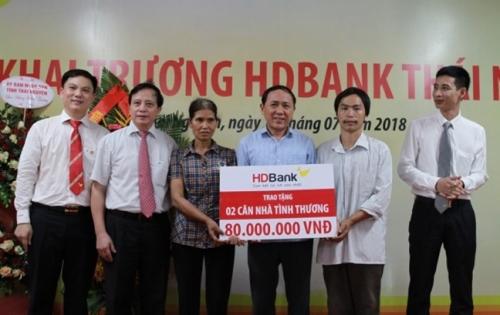 HDBank khai trương điểm giao dịch thứ 262