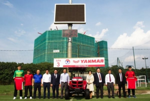 Yanmar tài trợ chính cho Đội tuyển Bóng đá Quốc gia Việt Nam