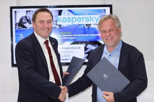 Kaspersky ký thỏa thuận với cảnh sát Interpol