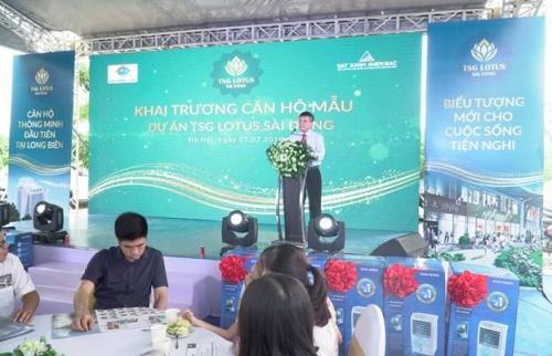 Đông đảo khách hàng tham dự khai trương căn hộ mẫu TSG Lotus Sài Đồng