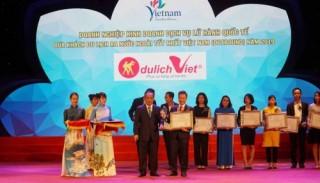 Du lịch Việt tiếp tục được tôn vinh tại giải thưởng Du lịch Việt Nam