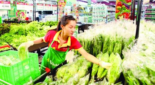 Hệ thống cửa hàng thực phẩm sạch đang suy thoái