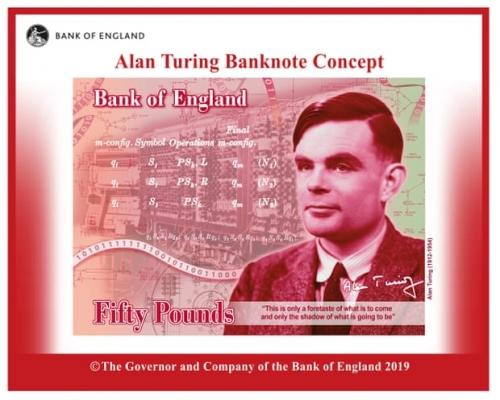 'Cha đẻ máy tính' Alan Turing sắp xuất hiện trên tờ 50 bảng Anh