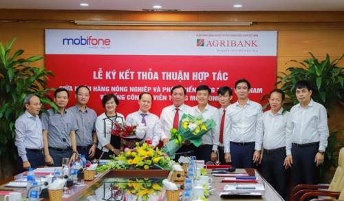 Agribank và MobiFone hợp tác toàn diện