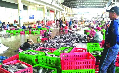 Nan giải đấu giá hải sản