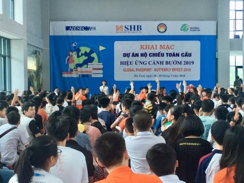 """SHB phối hợp với AIESEC tổ chức """"Hộ chiếu toàn cầu 2019"""""""