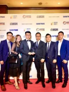 Ngân hàng UOB Việt Nam được trao giải Sáng kiến Tài chính toàn diện